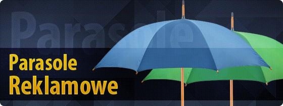 Parasole reklamowe z nadrukiem logo dla Twojej firmy