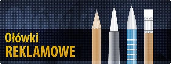 Ołówki reklamowe - gadżety firmowe z logo
